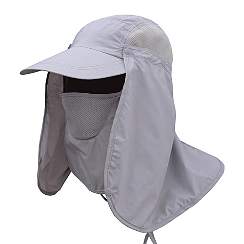 fe942e714d0 Allwin Hiking Fishing Hat Outdoor Sport Sun Protection Neck Face Flap Cap  Wide Brim   Best Price