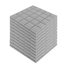 5Pcs Studio Acoustic Foam Panels Square Sound Stop InsulationTreatment Proofing
