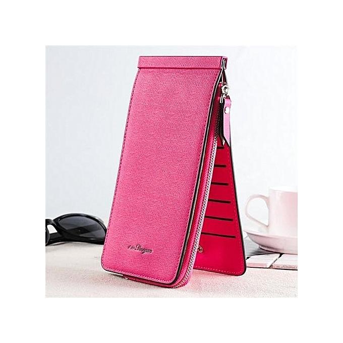 Fashion Lady Women PU Leather Clutch Wallet Long Card Holder Case Purse  Handbag 7961af998f