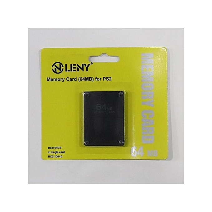64MB Memory Storage Card For Sony PlayStation 2 PS2 Game Console .