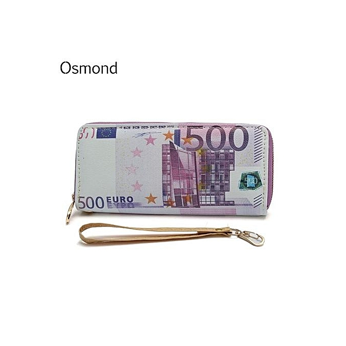 Euro Pounds Us Dollar Pu Money Wallet Man Fashion Coin Purse Males Id Card Holder