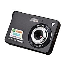 OR 2.7 Inch TFT LCD Display 18MP 720P 8x Zoom HD Anti-Shake Digital Camera-Black