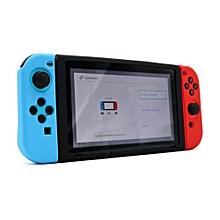 Anti-slip Silicone Cover Skin Case For Nintendo Switch Console - Black