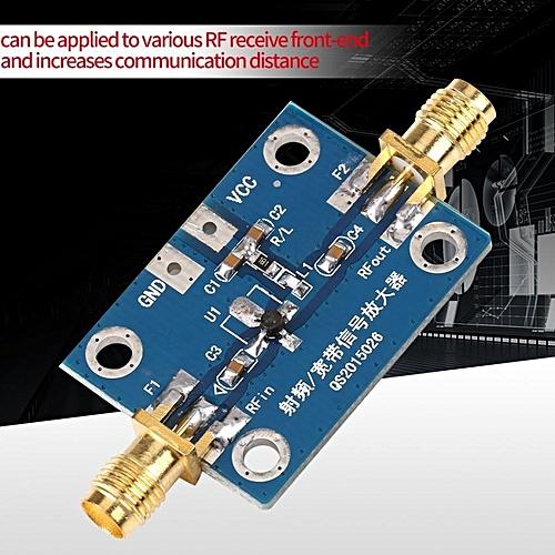 Adjustable 0 1-2000MHz RF Wideband Amplifier Gain 30dB Low-noise Amplifier  LNA Board Module