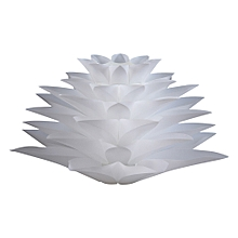 YouOKLight DIY Lotus Shaped Chandelier Ceiling Pendant Lampshade For Home WHITE
