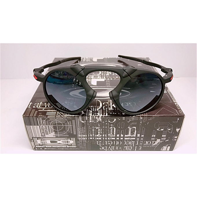 586332d3854 Sunglasses Oakley Polarized Madman Dark Carbon Prizm Daily Black Grey  Iridium