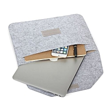 """13"""" Air Soft Sleeve Bag Premium Sleeve Anti-scratch Notebook Case For 13.3 Inch Ultrabook Without CD-ROM Laptop, Gray"""