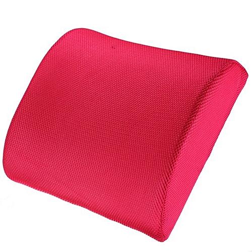 Universal Memory Foam Lumbar Back Support Cushion Pillow For Office