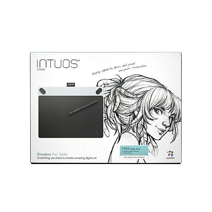 Wacom Bamboo Splash Pen Small Tablet CTL690/W0 Digital Drawing Board Pad  Touchpad For Windows Mac