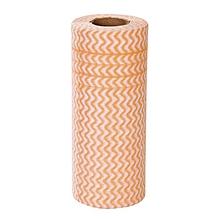 GB 25PCS/SET Kitchen Disposable Eco-friendly Rags Wiping Dishcloth Washing Cloth-orange