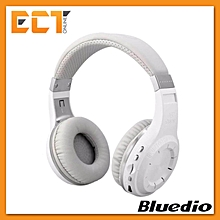 Bluedio H+ Turbine Wireless Bluetooth 4.1 Stereo Headset / Headphone with Micro SD Slot (White) BDZ Mall