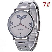 Women Ladies Casual New Design Alloy Strap Quartz Wrist Watch G