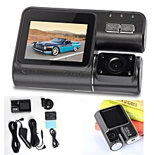 2'' HD 1080P Dual Lens Car DVR Dash Cam Rearview Video Camera Recorder G-sensor