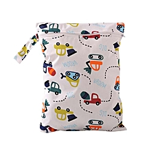 Hot Baby Diaper Bags Character Print Changing Wet Bag Baby Cloth Diapers