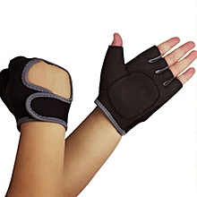 Men Outdoor Sports Half Finger Glove Riding Non-slip Breathable Weightlifting Gloves