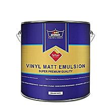 Paint Vinyl Matt Emulsion - 4 Litre - Soft White