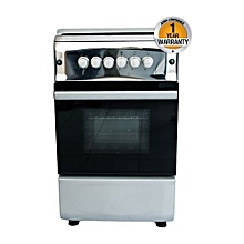 BGC 5040NX - 4 Gas Burner,Gas Oven ,Stainless Steel Standing Cooker - Metalic Grey