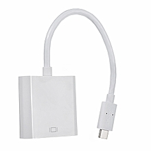 USB 3.1 Type C to VGA Cable Convertor Adapter
