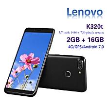 Lenovo K320t 4G Phablet Qualcomm Snapdragon 625 Quad Core 2GB RAM 16GB ROM - BLACK