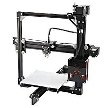 Anet A2 Aluminum Metal 3D Three-dimensional DIY Printer with TF Card Off-line Printing / LCD Display BLACK EU PLUG