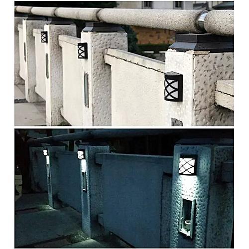 Generic Solarbetriebene Pfad Licht Yard Zaun Gosse Garten Wand Retro