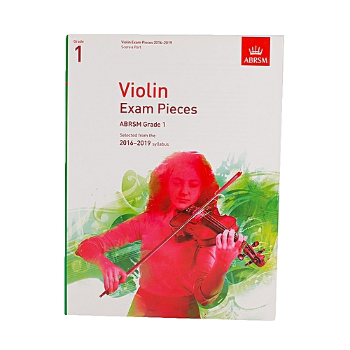 Violin Exam Pieces - Grade 1 - White