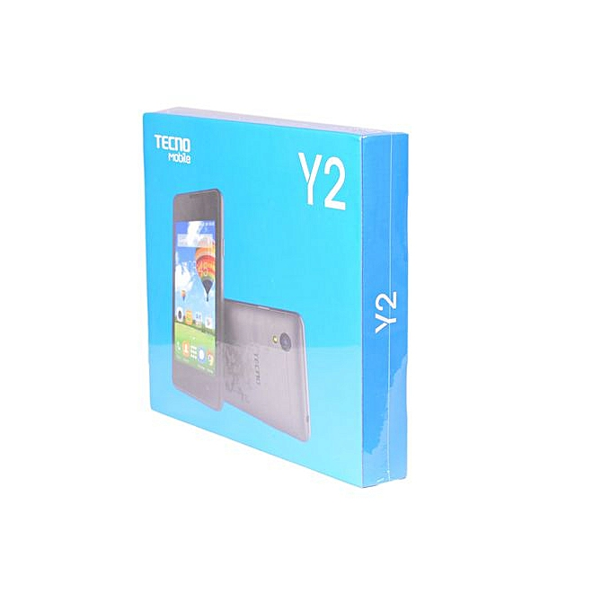 TECNO Y2-8GB-512MB RAM,(Dual SIM)-Anthracite Grey
