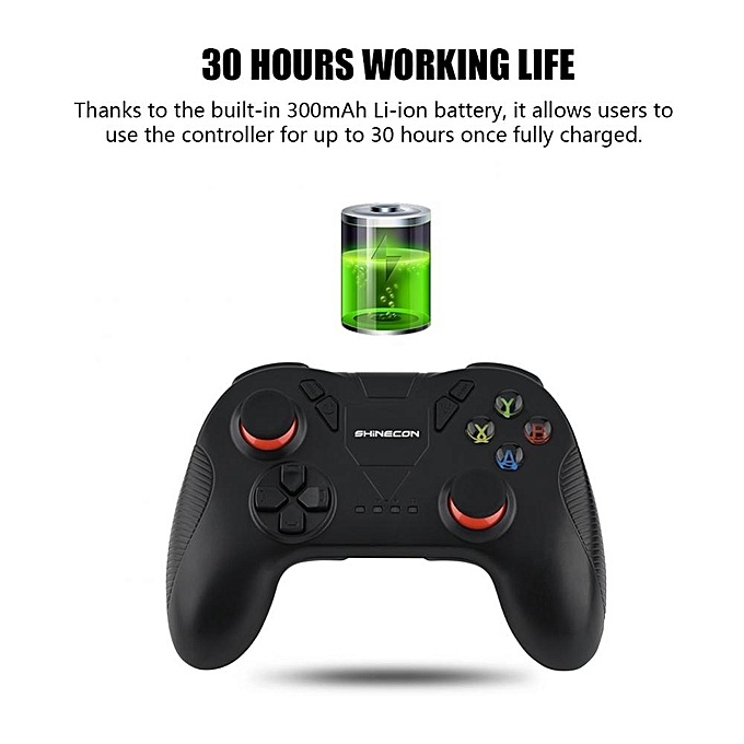 SHINECON Bluetooth Gamepad Wireless Gaming Controller Joystick For IOS  Android Phone PC