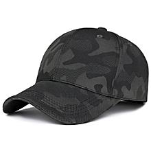 Men Outdoor Casual Camouflage Baseball Cap Sunshade Adjustable Golf Hat