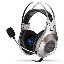N2 Noise Cancelling Gaming Headset with LED Light - Silver