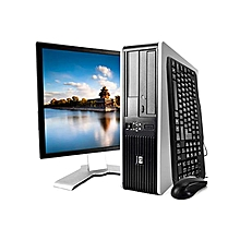 "Refurb 7900 - Core 2 duo desktop  - 4gb ram-160gb hdd-Monitor 17""-free dos-complete"