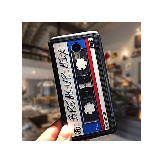 SOFT PHONE CASE FOR MEIZU M5 MULTICOLOR INTL. Generic For Meizu MX5 .