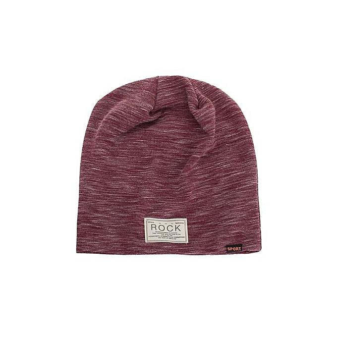 9fd34a0b2cd Zetenis Women Men Warm Baggy Weave Crochet Winter Wool Knit Ski Beanie  Skull Caps Hat -
