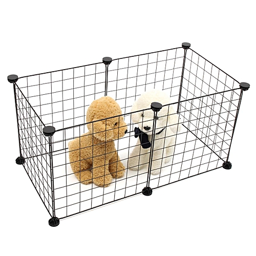 Wire Metal Panel Pet Playpen   Generic 6 10 Panels Foldable Pet Puppy Playpen Crate Fence Kennel