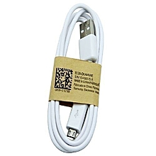 USB Data Cable Android - White
