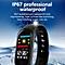 0.96 Inch Smart Watch Bracelet M3 Color LED Sports Blood Pressure Smart Band black