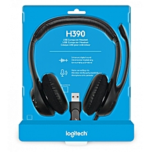 H390 - USB Headphone with Noise-Canceling Microphone