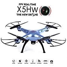 Syma X5HW WIFI FPV With HD Camera Altitude Mode 2.4G 4CH 6Axis RC Drone Quadcopter RTF-Green