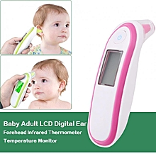 Baby Adult LCD Digital Ear Forehead Infrared Thermometer Temperature Monitor