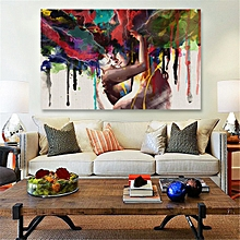 de63149bc96 Abstract Couple Canvas Painting Print Picture Home Room Wall Art Decor  Framed