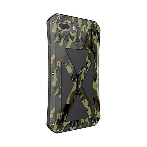 best service a9e36 800e7 R-JUST X-Men Waterproof Metal Phone Cases For IPhone 7 Plus  (Color:Multicolor)