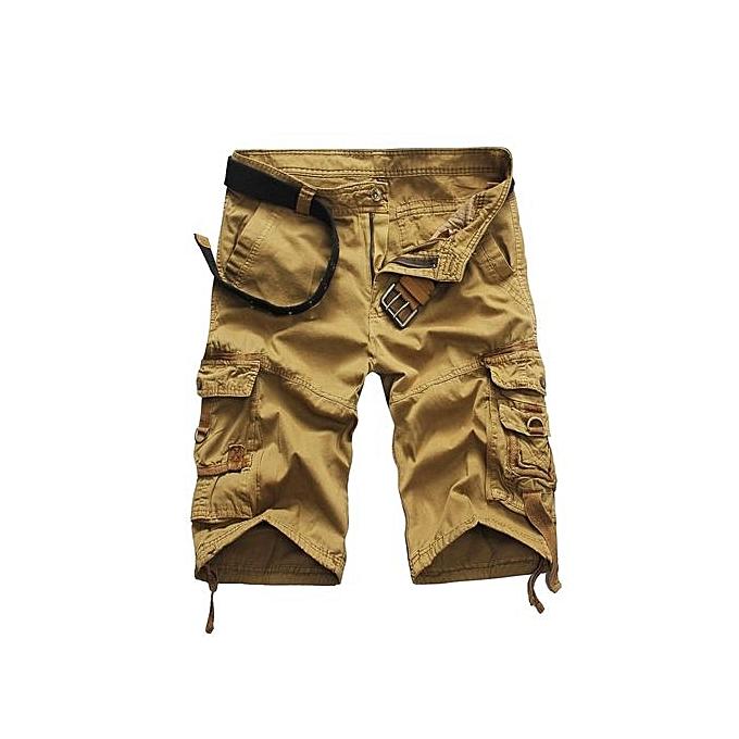 72c0fdc495 Shorts Men Summer Cargo Shorts Men Short Pants Casual Baggy Shorts Military  Trousers Bermuda Cargo Overalls