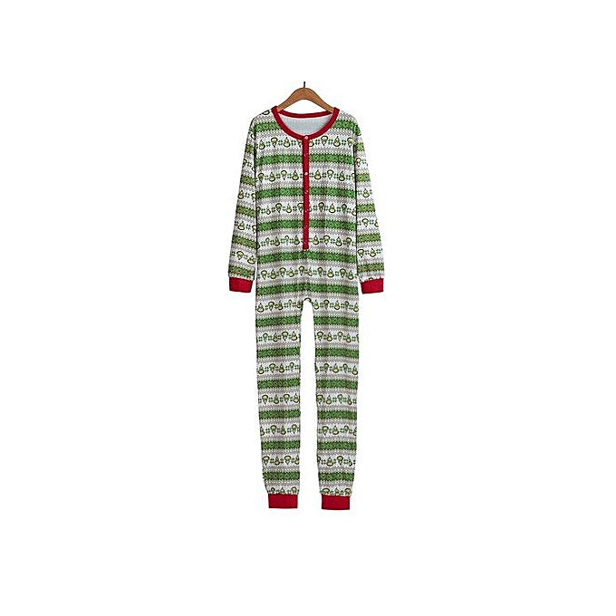 5f115d8dc5 bluerdream-Man Family Matching Xmas Pajamas Set Women Kid Adult PJs  Sleepwear Nightwear L-