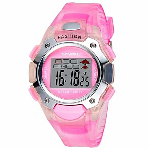 45bd2a66b LED Digital Watch Children Girls Wrist Watch Kids Watches Boys Clock Child  Sport Digital-watch