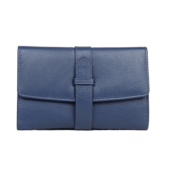 3dcdd5875042 Ranks leather ladies leather purses wallets - Dark Blue   Best Price ...