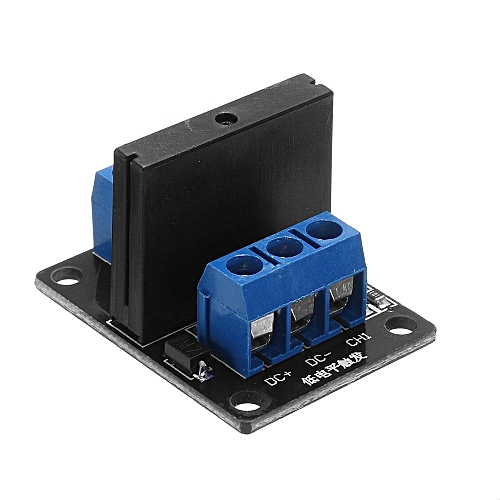 1 Channel DC 12V Relay Module Solid State Low Level Trigger For Arduino  240V2A