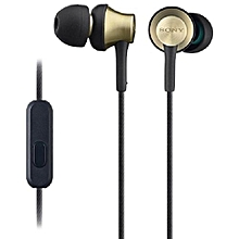 Sony Earphones With Brass Housing, Smartphone Mic And Control