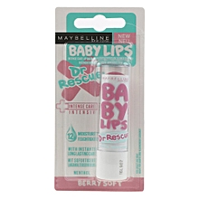 Baby Lips Dr. Rescue Intense Care Lip Balm with Eucalyptus, Shea Butter & Menthol -BERRY SOFT