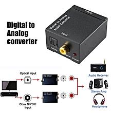Digital to Analogue Audio Converter 2 Input 2 Output