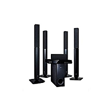 1000W DVD HOMETHEATRE SYSTEM 5.1CH, LHD657 - Black